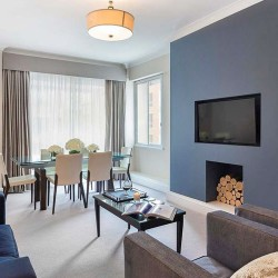1 bedroom living area, Green Park Apartments, Mayfair, London