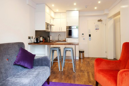 short let studio apartments, camden, london
