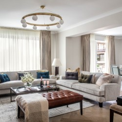 4 bedroom living area, Green Park Apartments, Mayfair, London