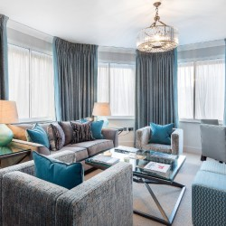 2 bedroom deluxe living area, Green Park Apartments, Mayfair, London