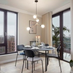 dining area in camden apartments