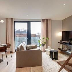 living area, Camden Apartments, Camden, London NW1