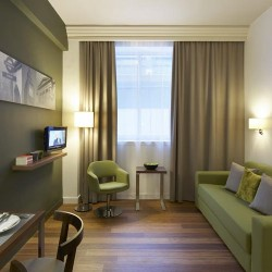 studio in holborn aparthotel, london
