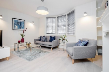 living area, St Martins Apartments, Covent Garden, London WC2