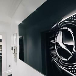 mercedes-benz design apartments, kensington, london