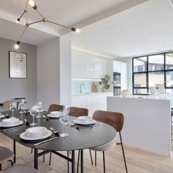 dining area and kitchen, Camden Apartments, Camden, London NW1