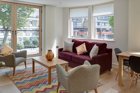 short term accommodation, lambeth north, london se1