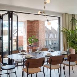 dining area, Camden Apartments, Camden, London NW1
