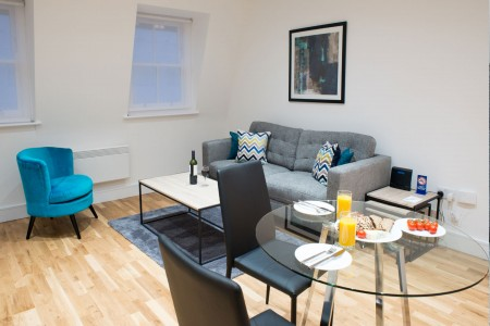 corporate accommodation, old street, london