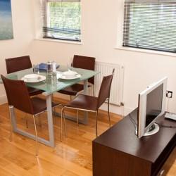 short let serviced accommodation, city, london ec3
