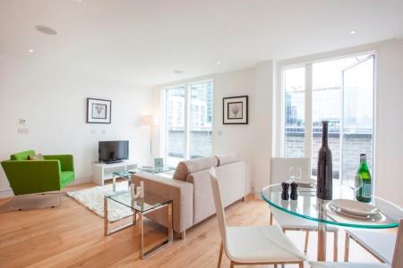 short let serviced apartments, london ec2