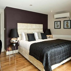 1 bedroom penthouse bedroom in City Lovat Apartments, City, London