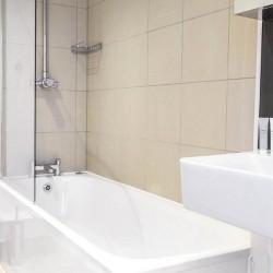 bathroom in fenchurch apartments, aldgate, london