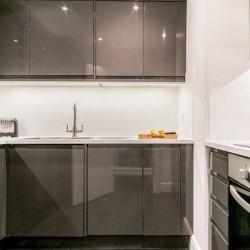 kitchen in fenchurch apartments, aldgate, london
