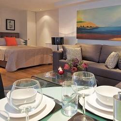 studio living room, City Lovat Apartments, City, London
