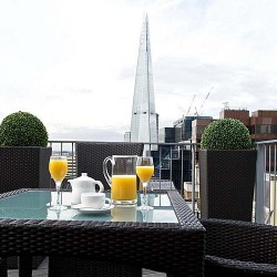 1 bedroom penthouse terrace in City Lovat Apartments, City, London