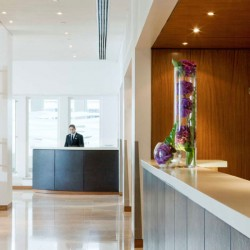 24 hour reception and concierge