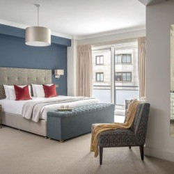double bedroom, Green Park Apartments, Mayfair, London