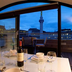 balcony in botolph residence, city, london