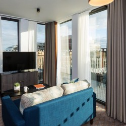 terrace 1 bedroom apartment