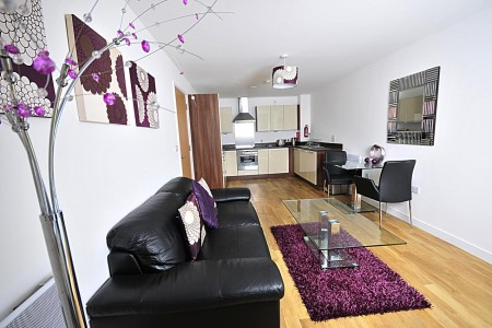 short let serviced apartments, cardiff, wales