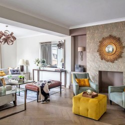 4 bedroom serviced apartment, living area, Green Park Apartments, Mayfair, London SW1