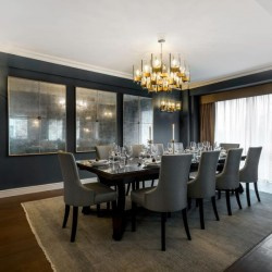 deluxe 3 bedroom apartment, dining room, Green Park Apartments, Mayfair, London SW1