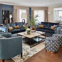 deluxe 3 bedroom apartment, living room, Green Park Apartments, Mayfair, London SW1