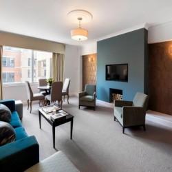 executive 1 bedroom apartment, living area, Green Park Apartments, Mayfair, London SW1