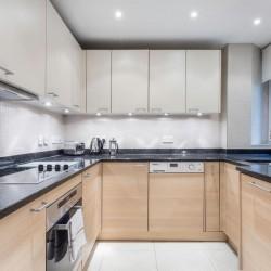 executive 1 bedroom apartment, kitchen, Green Park Apartments, Mayfair, London SW1