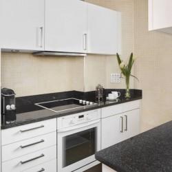 standard studio, kitchen, Green Park Apartments, Mayfair, London SW1
