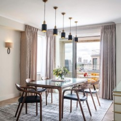 superior 3 bedroom apartment, dining room, Green Park Apartments, Mayfair, London SW1