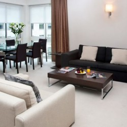 superior 1 bedroom apartment, living area, Green Park Apartments, Mayfair, London SW1