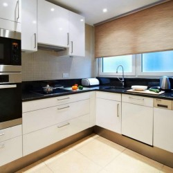 superior 1 bedroom apartment, kitchen for self catering, Green Park Apartments, Mayfair, London SW1