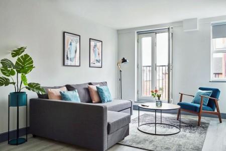 living room, Reading Apartments, Reading, Berkshire RG1