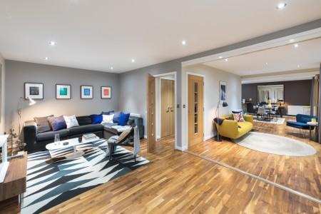living area, Waterloo Apartments, Waterloo, London SE1