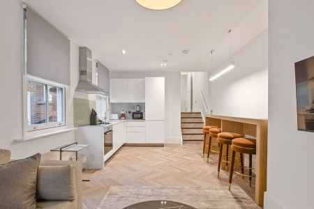 living area, Victoria Apartments, Reading, Berkshire RG1
