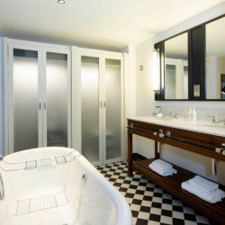 bathroom, The Grand Apartments, Edinburgh, Scotland EH2