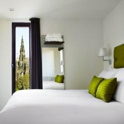 bedroom, Old Town Apartments, Edinburgh EH1, Scotland
