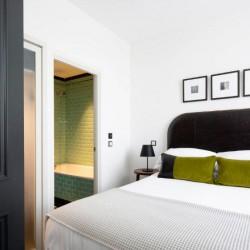 double bedroom, The Grand Apartments, Edinburgh, Scotland EH2