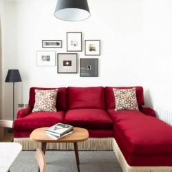 living area, The Grand Apartments, Edinburgh, Scotland EH2
