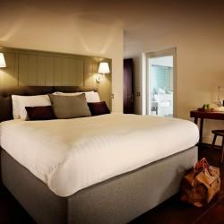 penthouse bedroom, Old Town Apartments, Edinburgh EH1, Scotland