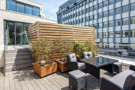 apartment with terrace, The Terrace Apartment, Soho, London W1