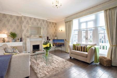 living room, Twickenham Apartments, Twickenham, London TW1