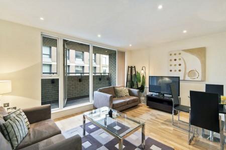 living room, Southwark Short Lets, Southwark, London SE1