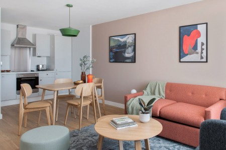living area, Liverpool Executive Apartments, Liverpool, L1